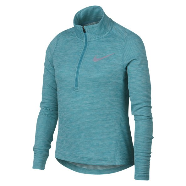 Nike Run ½ Zip Girls' Running Top, Green