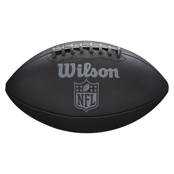 Wilson NFL Jet Black Football, Black