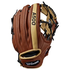 "Wilson A500 11"" Baseball Glove, Brown"