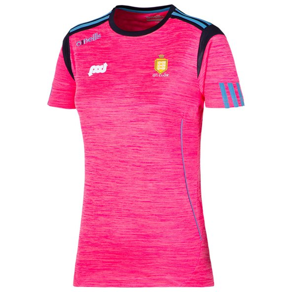 O'Neills Clare Solar Girl Tee Pink/Nvy
