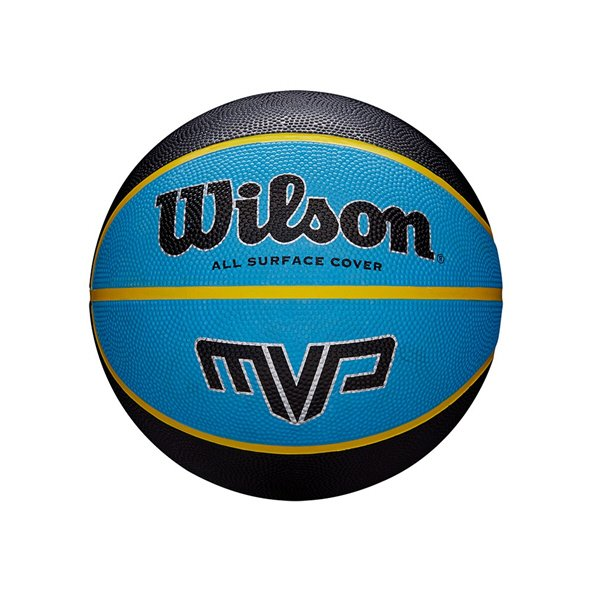 Wilson MVP Mini Basketball, Blue/Black