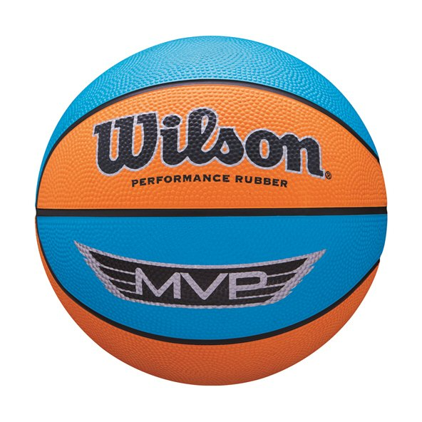 Wilson MVP Mini Basketball, Orange/Blue