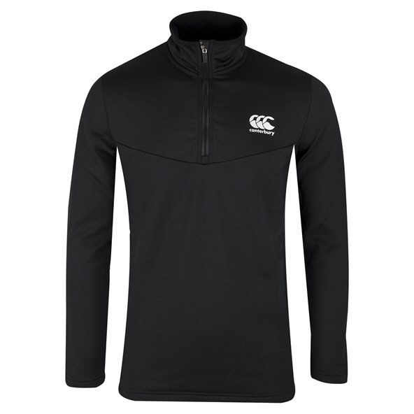 Canterbury Thermoreg ¼ Zip Men's Running Top, Black