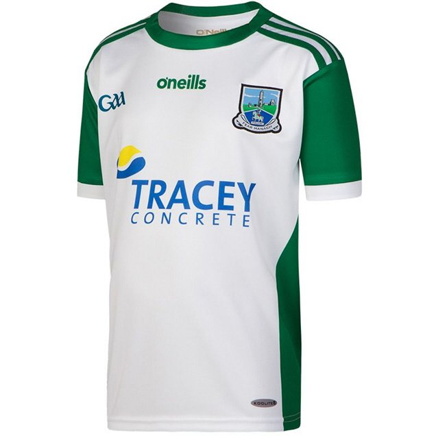 O'Neills Fermanagh 2018 Kids' Home GK Jersey, White