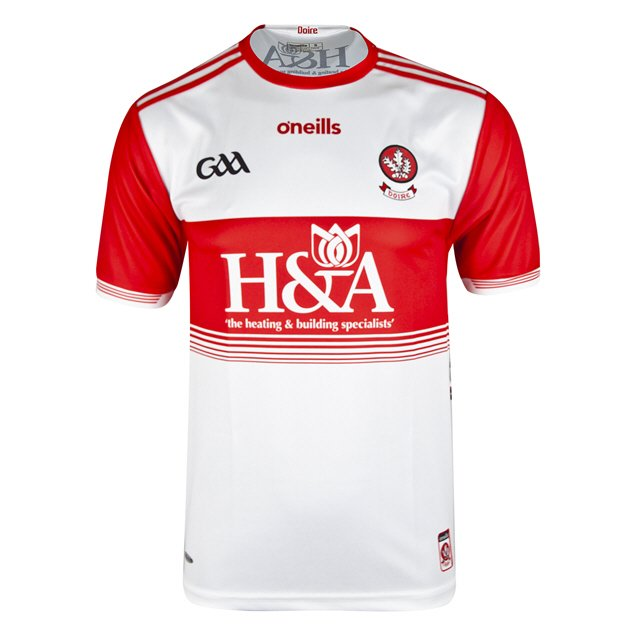 O'Neills Derry 2019 Home Jersey, White