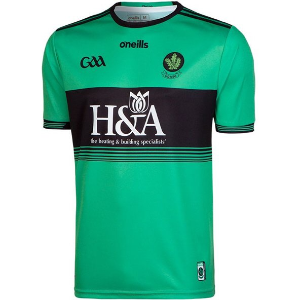 O'Neills Derry 2019 Home Goalkeeper Jersey, Green