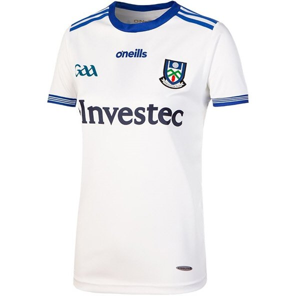 O'Neills Monaghan 2018 Women's Home Jersey, White