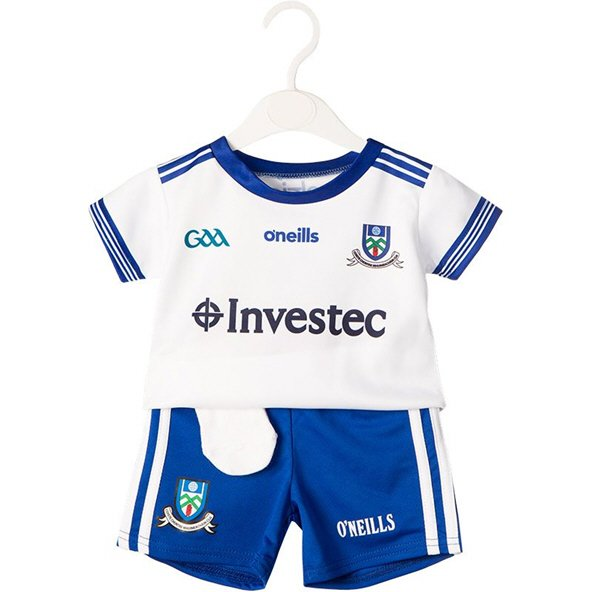 O'Neills Monaghan 2019 Kids' Home Kit , White