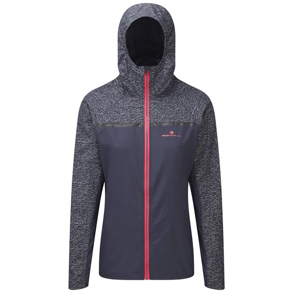 Ronhill Momentum Afterlight Women's Running Jacket, Grey