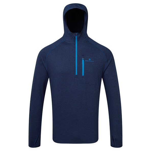 Ronhill Momentum Workout Men's Hoody, Navy
