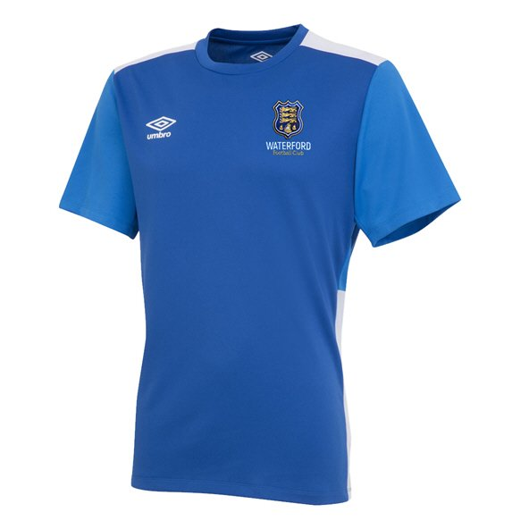 Umbro Waterford FC 2019 Kids' Training Jersey, Blue
