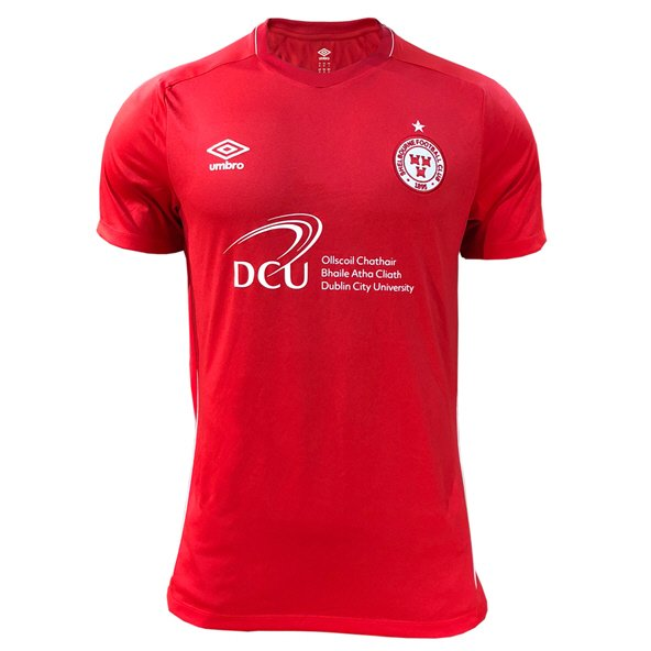 Umbro Shelbourne 2019 Kids' Home Jersey, Red
