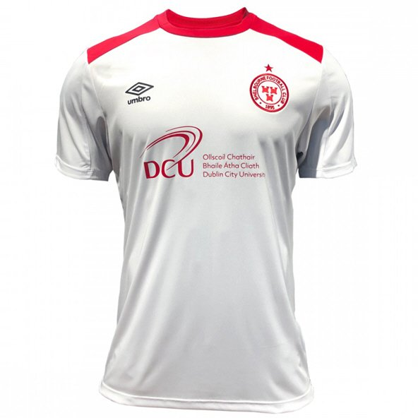Umbro Shelbourne 2019 Away Kids' Jersey, White