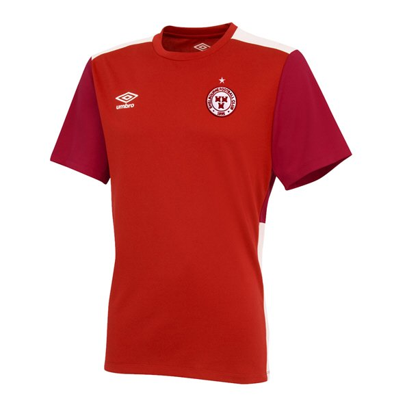 Umbro Shelbourne FC 2019 Kids' Training Jersey, Red