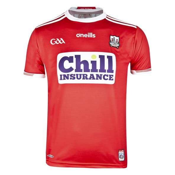 O'Neills Cork Home 19 Kids Jersey Red