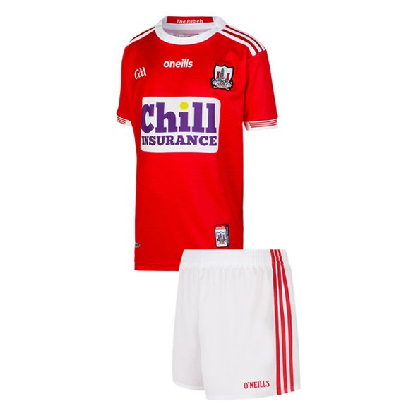 O'Neills Cork 2019 Kids' Home Kit, Red