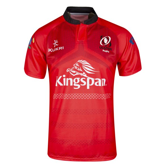 Kukri Ulster 18 European Kids Jersey Red