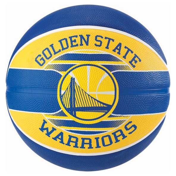 Spalding Golden State Warriors Team Basketball - Size 7, Blue