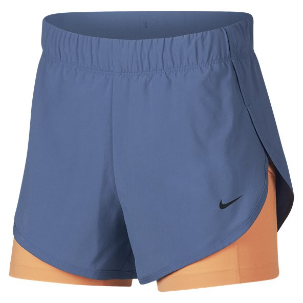 Nike Flex 2in1 Woven Wmns Shorts Indigo