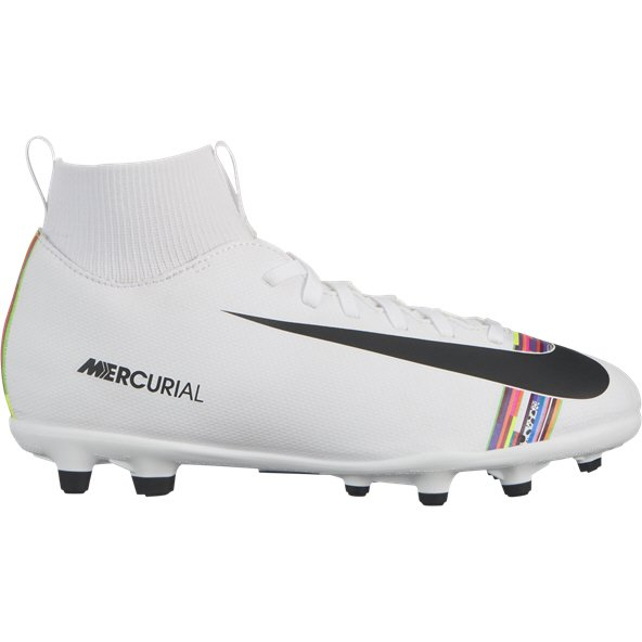 Nike Mercurial Superfly 6 Club Kids' FG Football Boot, Platinum