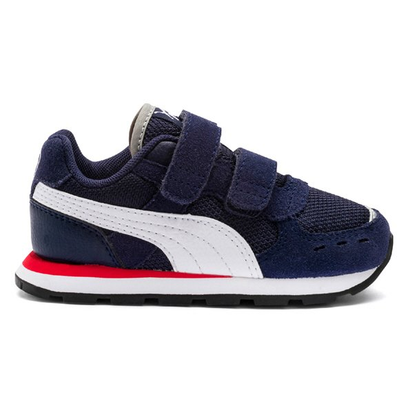Puma Vista V Junior Boys' Trainer, Navy