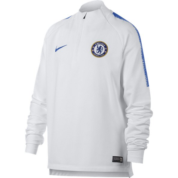 Nike Chelsea 2018/19 Kids' Squad Drill Top, White