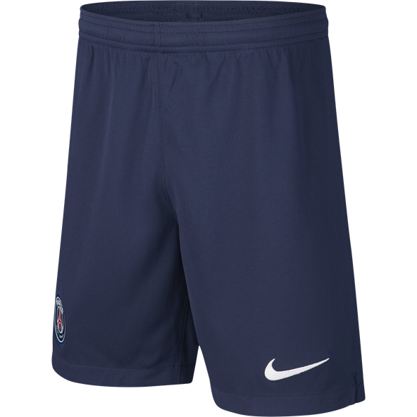 Nike PSG 2019/20 Home Kids' Short, Navy