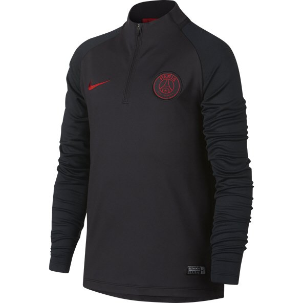 Nike PSG 19 Strike Drill Kids' Top Grey