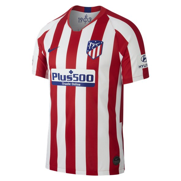 Nike Atletico Madrid 2019/20 Kids' Home Jersey, Red
