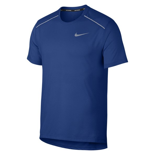 Nike Breathe Rise 365 Men's RunningT-Shirt, Indigo