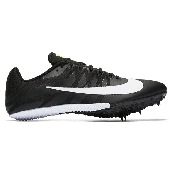 Nike Zoom Rival S9 Mens Spikes Blk/Wht