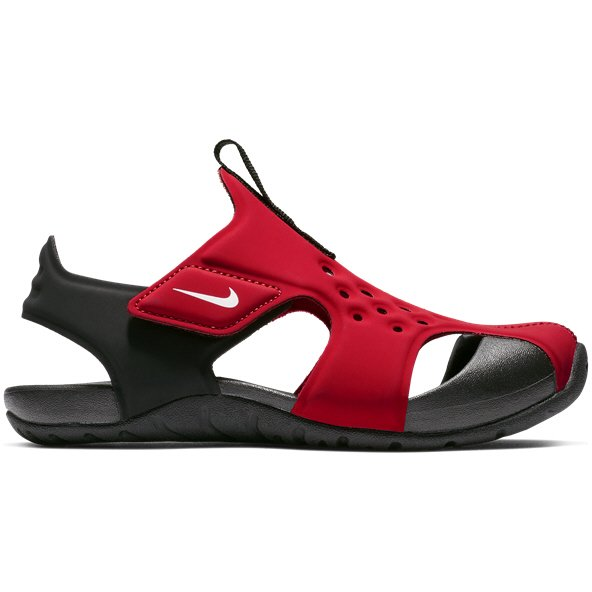 Nike Sunray Protect Junior Boys' Sandal, Red