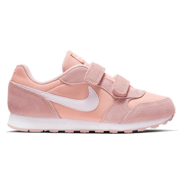 Nike Runner MD Junior Girls' Trainer Coral/White