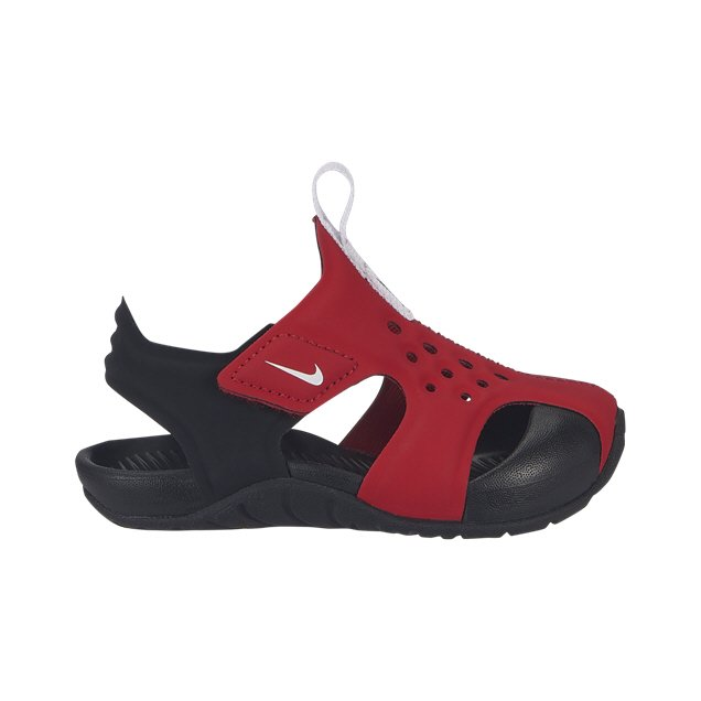 2008905814320 Nike Sunray Protect Infant Boys' Sandal Red/White   Elverys Site