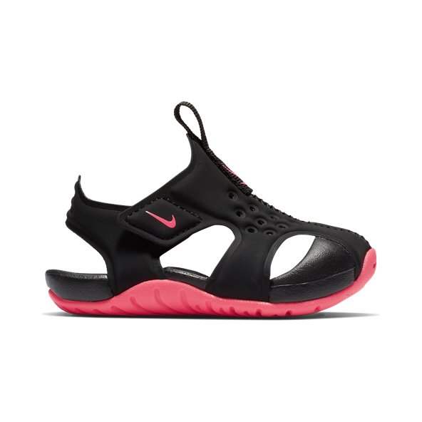 Nike Sunray Protect Infant Girls' Sandal Black/Pink