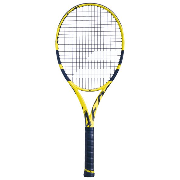 Babolat Pure Aero Tennis Racket, Yellow