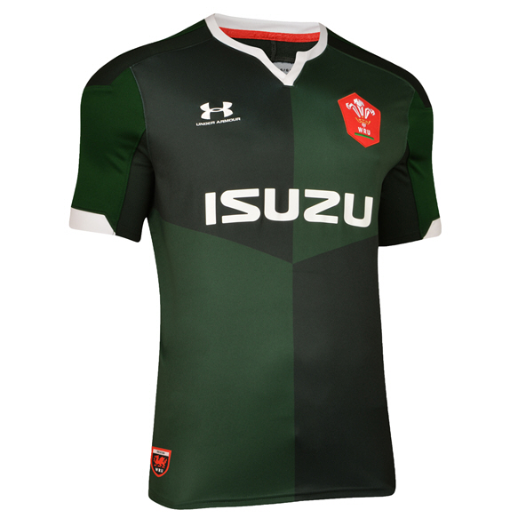 Under Armour® Wales 2019 Away Jersey, Green