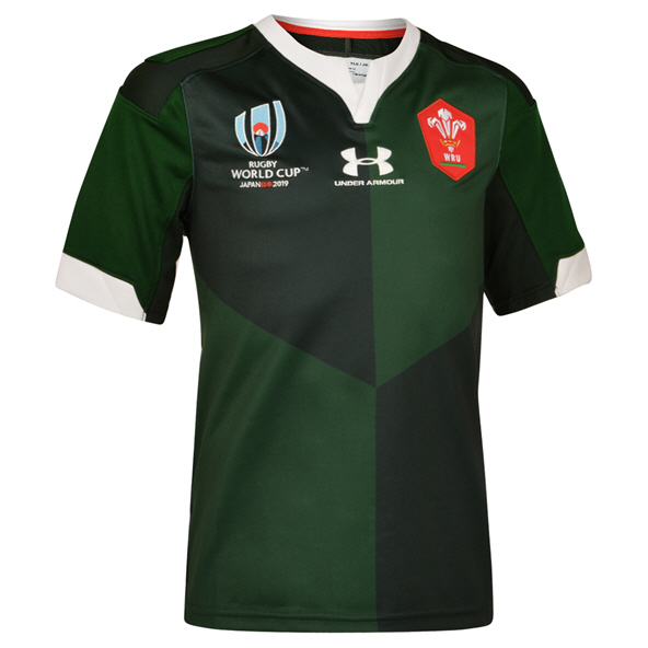 Under Armour® Wales RWC19 Away Jersey, Green