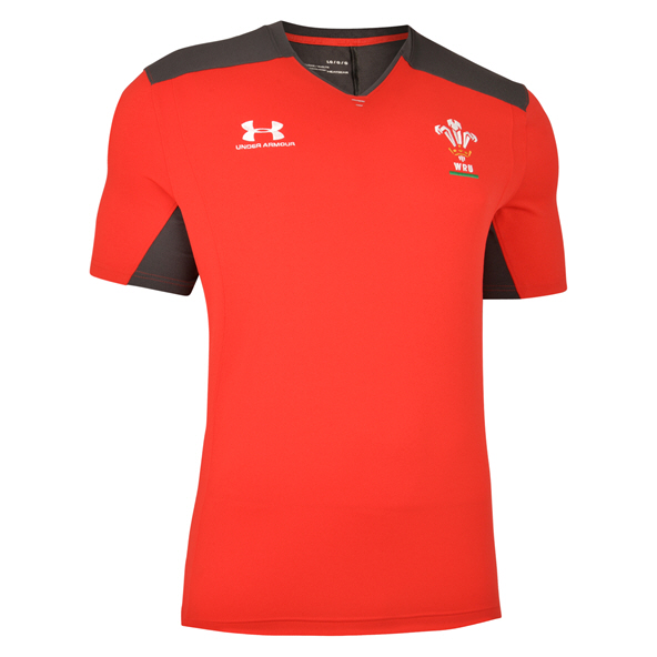 Under Armour® Wales 2019 Training T-Shirt, Red
