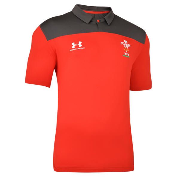 Under Armour® Wales 2019 Polo, Red