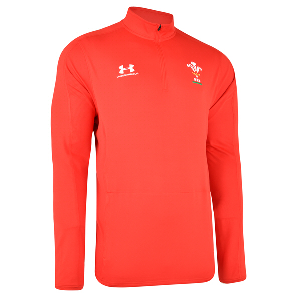 UA WRU 2019 QZ Top Red/White