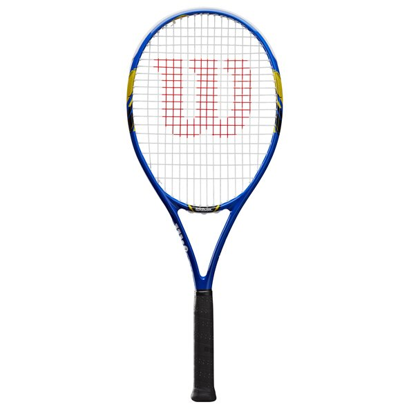 Wilson US Open Tennis Racket, Blue/Yellow