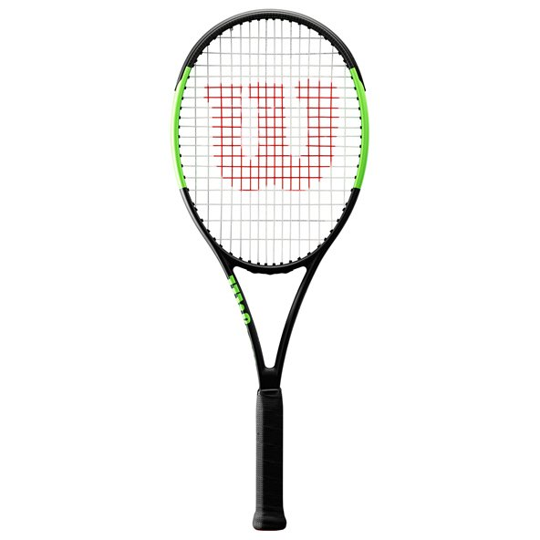 Wilson BladeTennis Racket, Black/Green