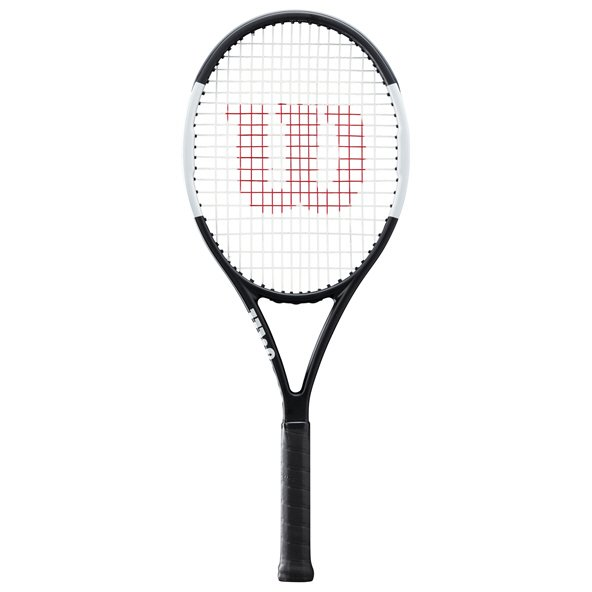 Wilson Pro Staff Tennis Racket, Black/White