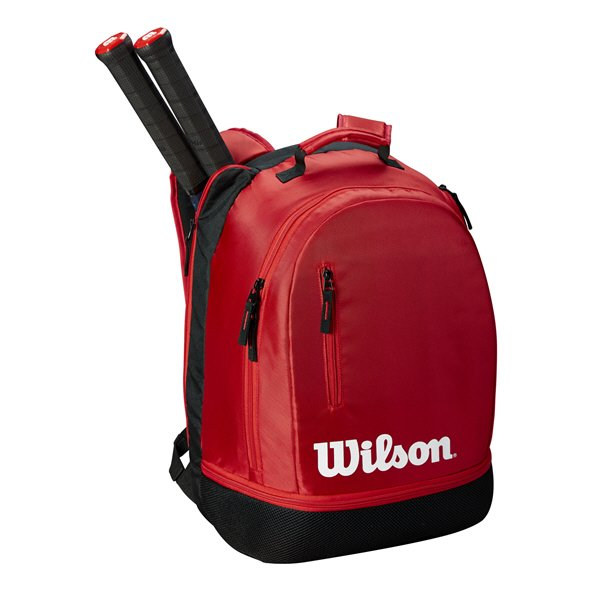 Wilson Team 2 Racket Backpack, Red