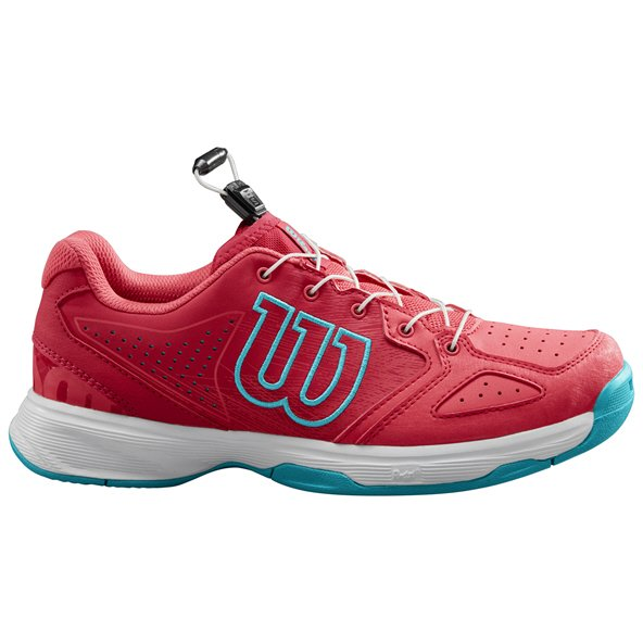 Wilson Kaos All Court Girls' Tennis Shoe Pink