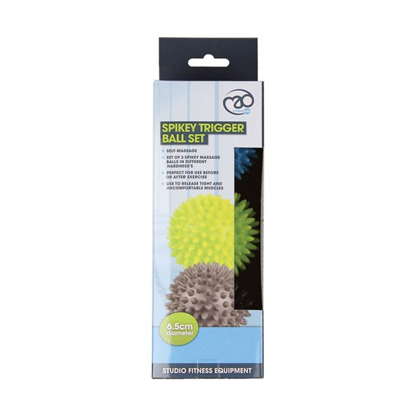 Fitness Mad Spikey Massage Balls - Set of 3
