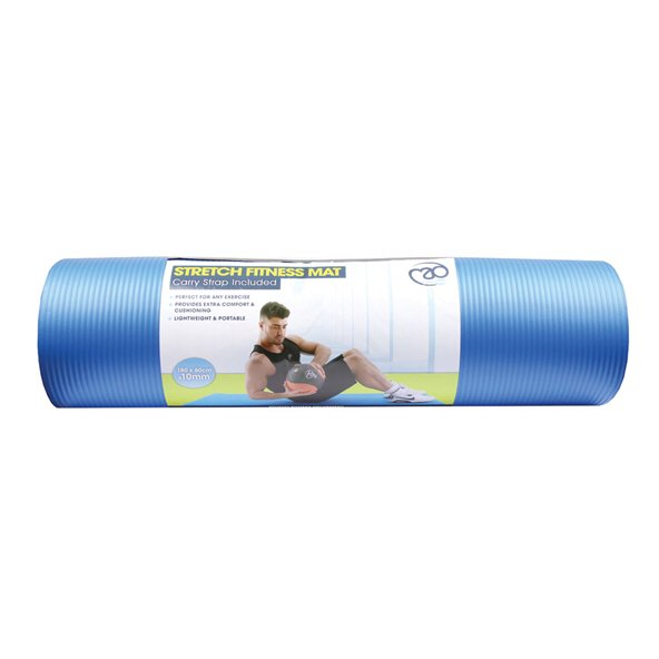 FM Stretch Fitness Mat, Blue