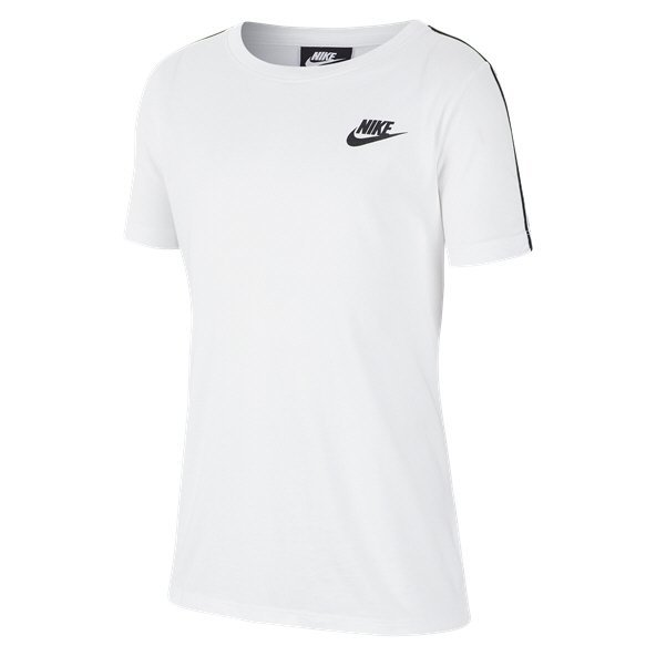 Nike Swoosh Repeat Boys' T-Shirt White