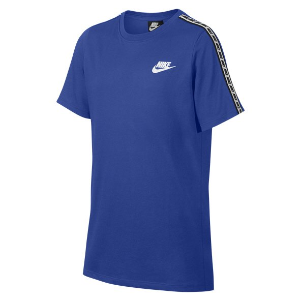 Nike Swoosh Repeat Boys' T-Shirt Royal